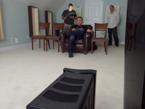 The Kef Blade 2 Demo with Johan and Jason and George and Craig - What a fun Day !